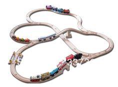 IKEA Train Tracks | Wooden Toy Train Tracks