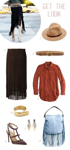western-inspired style // get the look #fringe!