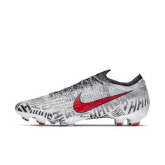 new product 326a2 27aaa Nike Mercurial Vapor 360 Elite Neymar Jr Firm-Ground Soccer Cleat Size 9.5  (White)