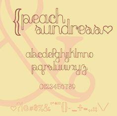 peach sundress