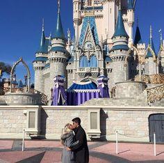 Lindo pedido de casamento na Disney - Débora e Fagner!