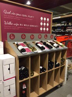 Wine at Delhaize Belgium