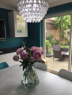 Crystal kitchen diner chandelier