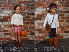 A week of outfits on the Babiekins Magazine's blog series Lil' Stylekins - Click through to see the rest of the days!
