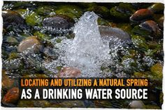 """Typically, natural springs can be found in hilly or mountainous terrain. The common definition is a """"place where natural outflow of groundwater occurs"""". Water from natural springs is ground water, and not surface water and thus, is typically free of contaminates that would otherwise be associated with surface water or open water sources. Generally, spring … Continue reading »"""