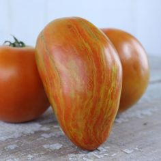 This photo of Striped Roman doesn't really do this tomato justice ==> theyarden.com