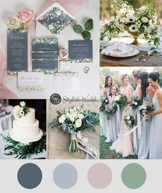 dusty blue and blush floral wedding invitations with belly band . dusty blue and blush floral wedding invitations with belly band Blue And Blush Wedding, Sage Wedding, Dusty Blue Weddings, May Weddings, Periwinkle Wedding, Late Summer Weddings, Rustic Wedding, Dream Wedding, September Wedding Colors