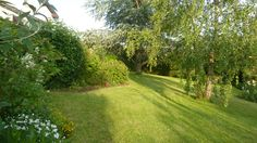 backgarden from north to south.