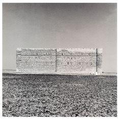 Lynn Davis - Palace, Syria, 1996 ( looks like contemporary installation art )
