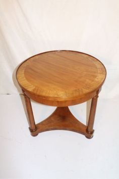 1850 Baker-Maple-and-ashwood-Banding-Round-Table-Circa-1930s
