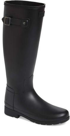 e686eab0363fe Hunter Original Refined Waterproof Rain Boot (Women) (Regular & Narrow  Calf)   Nordstrom
