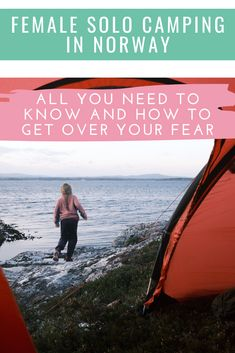 All about female solo camping in Norway Norway Camping, Norway Travel, Solo Camping, First Time Camping, Alesund, Solo Travel Tips, Visit Norway, Tromso, Stavanger