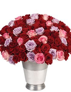 What's even better than a dozen roses?  ONE HUNDRED roses!!!