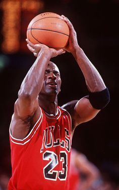 Michael Jordan-- my favorite baller!