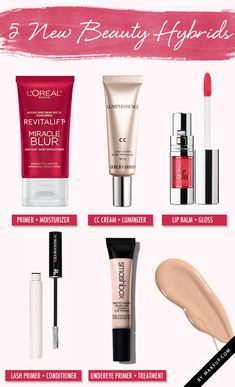 We know you're busy, so check out these products to help shorten your beauty routine. These makeup products all have multiple products in one!