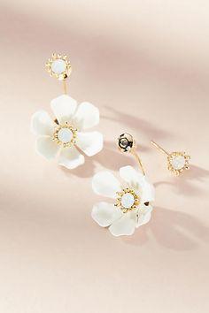 Zenzii Dusk Blossom Drop Earrings