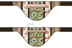 Billedresultat for free zipper bag templates Fanny Pack Pattern, Sewing Crafts, Sewing Projects, Craft Bags, Bum Bag, Art Gallery Fabrics, Purse Patterns, Pattern Drafting, Fabric Bags