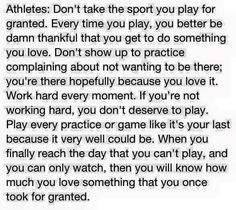 For all ATHLETES