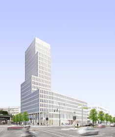 KUEHN MALVEZZI · Hotel- und Bürogebäude Alexanderstrasse · Divisare