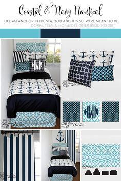 Awesome Nautical Dorm Room