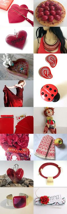 Red at Night by Laura P. on Etsy--Pinned with TreasuryPin.com