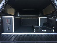 2017 Toyota Tacoma custom truck bed storage