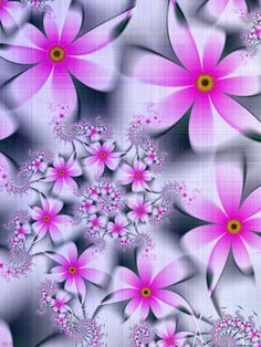 Fabric of Flowers for Li by LaraBLN on deviantART
