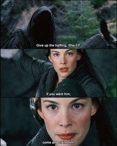 I still hate Peter Jackson putting Arwen in Glorfindel's place.