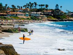 La Jolla Beach, my most favorite vacation in spot in the US.