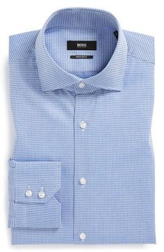 BOSS HUGO BOSS 'Gerald' WW Regular Fit Dress Shirt | Nordstrom