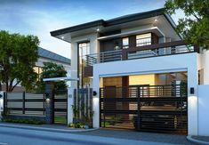 Two storey house design contemporary 2 storey house designs house interior with two storey modern house . Two Story House Design, 2 Storey House Design, Green House Design, Two Storey House, Simple House Design, Modern House Design, Small Home Design, Simple House Exterior, Modern Exterior House Designs