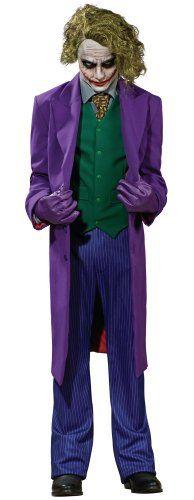 The Joker Costume for Halloween. Joker costume from Batman the Dark Knight. The Joker is the criminal mastermind of Gotham City and mortal enemy of Batman. Dark Knight Joker Costume, Costume Batman, Batman Cosplay, Batman The Dark Knight, Batman Dark, Halloween Kostüm Joker, Halloween Fancy Dress, Adult Halloween