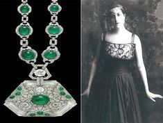 Necklace of Anita Delgado, a Spanish Flamenco dancer who became Princess of Kapurthala
