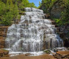 Hector Falls - Finger Lakes Area, Western New York
