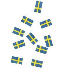 Flaggirland Svensk från Byggfabriken
