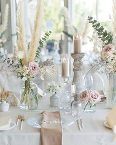 """Table Tales on Instagram: """"Pure magic every time we work with @preciousflowers_ ✨ Featuring our iridescent glassware, lynx white/gold flatware + champagne velvet…"""" Gold Wedding Theme, Gold Wedding Decorations, Wedding Table Decorations, Wedding Table Settings, Chic Wedding, Rustic Wedding, Wedding Flowers, Wedding Ideas, Wedding Reception"""