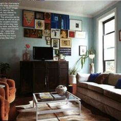 Brooklyn One Bedroom Recently Featured in Marie Claire Magazine