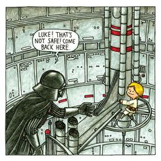 See 10 images from 'Vader's Little Princess' and 'Darth Vader and Son'   EW.com