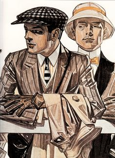 Leyendecker Arrow shirt ad 1920's