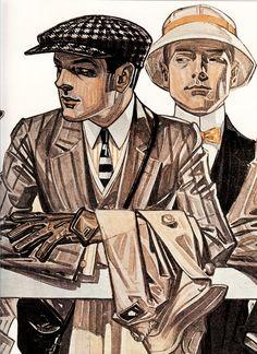 Leyendecker Arrow shirt ad 1920's