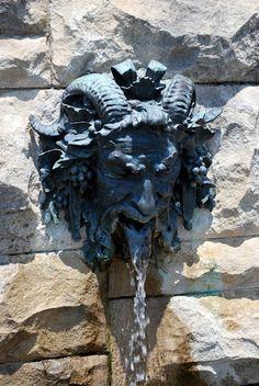 Biltmore House Pan God fountain, Asheville, NC