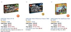 Amazon: LEGO Buy One Get One 40% Off