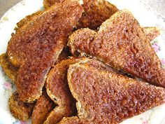 The best CINNAMON TOAST ever! Like mama use to make! Recipe on The Beehive Cottage!