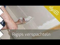 Rigips verspachteln - Spachteln wie der Profi @ diybook.de
