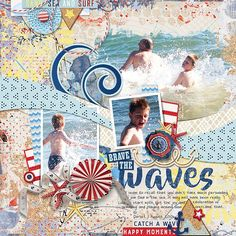 Surf Sand and the 4th by WendyP Designs http://www.sweetshoppedesigns.com/sweetshoppe/product.php?productid=37135&cat=919&page=2 Template Caroline S (retired) Fonts Beyond the Mountains (title), DJB Geordie Girl (journaling)