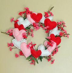 Corona de corazones