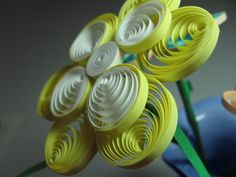 Quilling. One of my first quilling projects