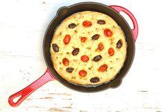 Olive flat bread | a