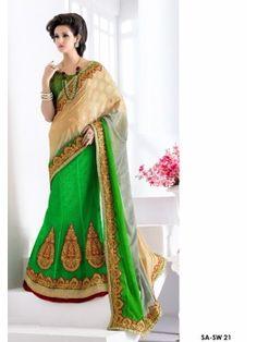 Designer Party Wear Lehenga Saree
