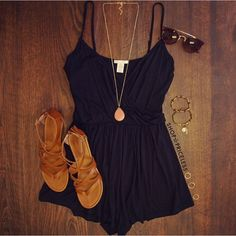 Every girl needs a basic romper!  Get our Veronique Romper online now for $18!  #ShopPriceless.com ⬅️